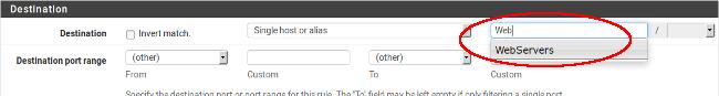 Utilisation des alias dans les règles de filtrage sous pfSense - Provya