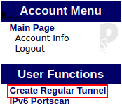 Création d'un tunnel IPv6 chez TunnelBroker - Provya